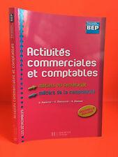 Activités commerciales et comptables Hachette 2007