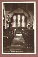 Pagham Church, West Sussex, Interior, RP, sunny windows, c 1950s   Rk98