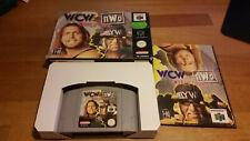 Wcw vs Nwo World Tour Nintendo 64 N64 PAL OVP CIB