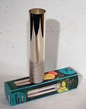 mid century design - BSF kleine versiberte Blumen Vase in orign. Schachtel 60ern