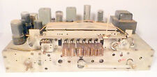 vintage  WARD'S AIRLINE 62-2708-A Radio: UNTESTED CHASSIS w/8 TUBES - line noise
