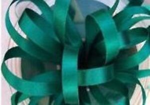 Double Faced Satin Ribbon Berisfords Teal Green Jade Colour 68 & ODDMENTS