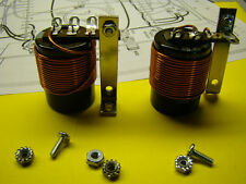 DYNACO ST-120 4700 MFD OUTPUT CAP AND COIL MATCHED SET