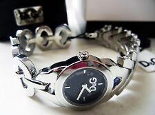 D&G Dolce&Gabbana Women's Wrist Watch Silver Stainless Steel NIB