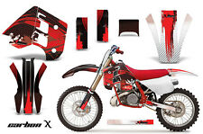 Decal Graphics Kit Wrap For KTM EXC250 EXC300 MXC250 MXC300 1990-1992 CRBNX RED