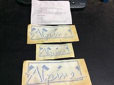 PEUGEOT 306 KIT TRASFERIMENTO ALPINO EMBLEM Genuine Part A5175
