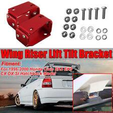 For Honda 96-00 Civic EK9 3DR Type R Spoiler CTR Wing Riser Lift Tilt