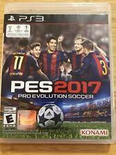 Pro Evolution Soccer PES 2017 PS3  (Sony PlayStation 3, 2016)