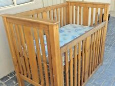 Timber Baby Cot and Change Table