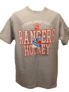 New York Rangers Adult Mens Sizes M-L Gray G-III Shirt