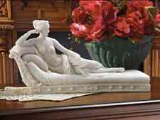 Reclining Paulin Borghese as VENUS LOVE GODDESS NUDE WOMAN SCULPTURE STATUE ART
