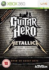 Xbox 360 Spiel Guitar Hero Metallica RAR***