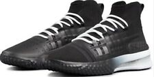 UNDER ARMOUR PROJECT ROCK 1 SNEAKERS UA BLACK / BLACK HIGH TOP SHOES
