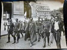 Photo foto PRESSE WW2 WWII 23.4x17.4 : LIBERATION PARIS - PLACE de L'OPERA 1944