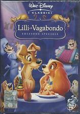 Lilli e il Vagabondo (1955) DVD 1° ed. B.V. Z3A0024605 ologramma rettangolare