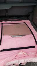 2007 Toyota Auris Passengers Side Rear Window Glass & Runner off a 5 Door HB