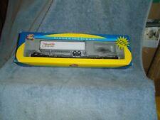 Athearn Ho Scale #74237 Rio Grande 85' All Purpose Flat Car w/45' Trailer #21506