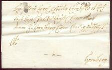 SCHWAEB HALL 1770ca VORPHILABRIEF (D1737