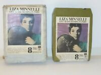 Vintage 8 Track Cassette Cartridge Eight Liza minnelli live at the olympia Paris