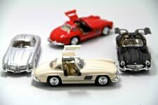 "Set of 4: New 5"" Kinsmart 1954 Mercedes Benz 300 SL Coupe Diecast Model Toy 1:36"