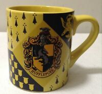 Harry Potter Red Yellow Gryffindor Crest Ceramic Coffee Mug Cup 14oz