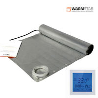 Electric Under Laminate / Wood Foil Underfloor Heating Mat Kit All Sizes Listing