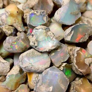 Natural Ethiopian Welo Opal Rough Bulk 10-40ct Large $3/Gram+ US SELLER + GIFT