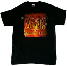 Vintage 2007 TOTO Falling in Between T Shirt Rare Perfect Condition