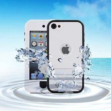 iPod touch 6/5th Gen Waterproof Shockproof Snowproof Case Kickstand Stand White