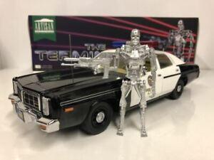 The Terminator Dodge Monaco Police with T-800  Greenlight 19042 1:18 Scale