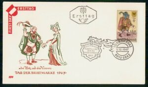 Mayfairstamps Austria FDC 1967 Mail Carrier First Day Cover wwm_52823