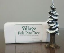 "Department 56 Village Pole Pine Tree 8"" Accessory"