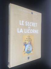 Archives Tintin Le secret de la licorne Hergé TBE sous cello jamais ouvert