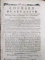 Belle Île en mer en 1795 Boissy d'Anglas École Hollande Révolution Française