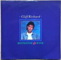 "CLIFF RICHARD MISTLETOE & WINE 1988 UK EMI VINYL 12 "" 12EM 78 ADVENT CALENDAR"