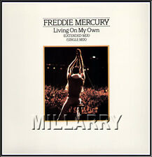 "1985 Freddie Mercury ""Living On My Own"" Us Promo 12"" Single"