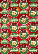 PIKACHU POKEMON Personalised Christmas Gift Wrap - Pikachu Wrapping Paper