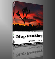 Map Reading Compass Orienteering Land Navigation Training Course Manual CD Book