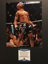 f0b17ce5531 Signed UFC MMA Autographed 8x10 Photo Beckett BAS Cert