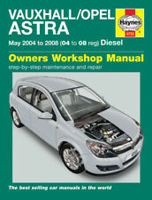 4733 Haynes Vauxhall/Opel Astra Diesel May 2004 - 2008 Workshop Manual
