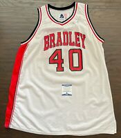 TOBY KEITH & JOE NICHOLS Signed 1993 BRADLEY BRAVES Game Used Basketball JERSEY