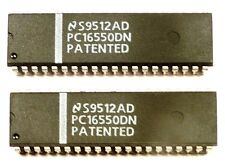 Ic Pc16550dn Uart W Fifos National Semiconductor Unused Nos Qty2