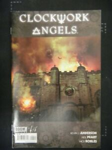 CLOCKWORK ANGELS 4 BOOM COMIC NEIL PEART RUSH MUSIC ANDERSON ROBLES 2014 NM