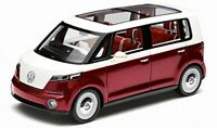 NOREV 7E9099302BL9 VW BULLI diecast model road car maroon & white 1:18th scale