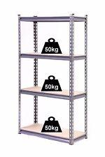 GLOBEL 4 TIER ADJUSTABLE SHELVING UNIT 1370 X 710 X 305mm garage or shed