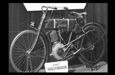 First Ever Harley Davidson Motorcycle Built PHOTO Rare Museum Piece!