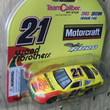 #21 R Rudd Wood Brothers 1/64 NASCAR Diecast Car _ GO DAD 700 CONSECUTIVE STARTS