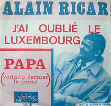 """7"""" 1969 RARE VG +! Alain cercan J 'ai oublie le Luxembourg"""