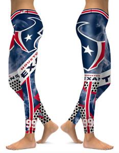Houston Texans Large or X-Large Women's Leggings New