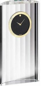 Movado Museum Dial MCL000201M Crystal Rotunda Clock. A Brand-new, Unused.